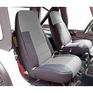 Coverking Neoprene Front Seat Covers (Black/Gray) - SPC176
