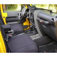 Coverking Neoprene Front Seat Covers (Black) - SPC195
