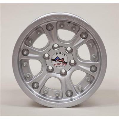 Hutchinson D.O.T. Beadlock, 17x8.5 Wheel with 6 on 5.5 Bolt Pattern - Sparkle Silver - 60670-047-03