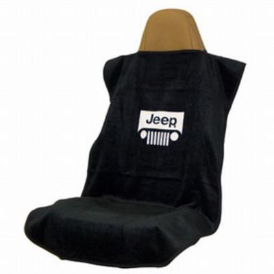 INSYNC Business Solutions Seat Armor Jeep Grille Seat Towel (Black) - SA100JEPGB