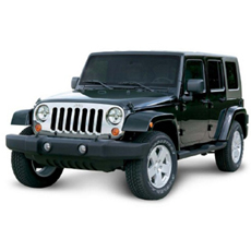 Jeep Grille Cover (Chrome) - 82210558AD