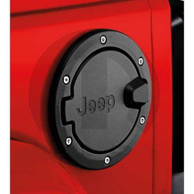 Image of Jeep Fuel Filler Door (Black)