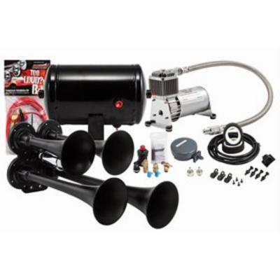 Kleinn Train Horns Complete quad air horn package with 130 psi sealed air system - HK4-1 HK4-1