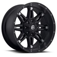 MHT Fuel Offroad Hostage, 24x11 Wheel with 5 on 4.5 and 5 on 5 Bolt Pattern - Black Matte - D53124112650