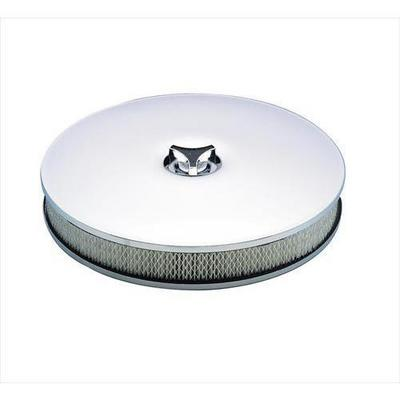 Mr. Gasket Company Low Rider Air Cleaner (Chrome) - 4338