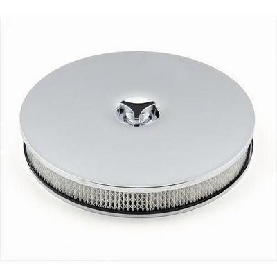 Mr. Gasket Company Low Rider Air Cleaner (Chrome) - 4339