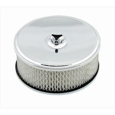 Mr. Gasket Company Deep-Dish Air Cleaner (Chrome) - 4346