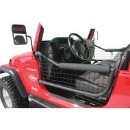 Olympic 4x4 Products Safari Front Tube Doors in Textured Black - 131-124