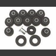 Omix-ADA Rubber Body Mounting Kit (Black) - 12201.02