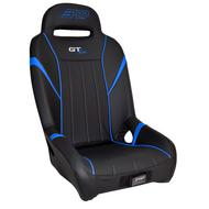 PRP GT/S.E. Suspension Seat, Black and Blue - A58-V