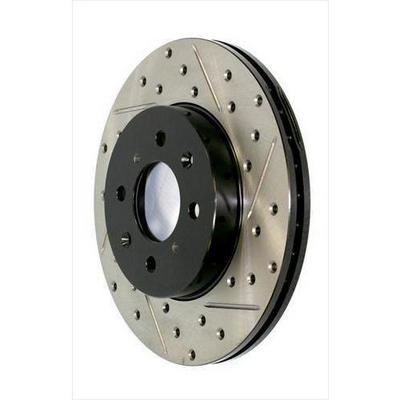 Power Slot Sportstop Drilled and Slotted Brake Rotor - 127.67068L