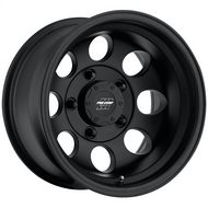 Pro Comp 69 Series Vintage Wheel, 15x8 with 5 on 4.5 Bolt Pattern - Flat Black - 7069-5865