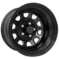 Pro Comp 51 Series Rock Crawler, 17x9 Wheel with 5 on 5 Bolt Pattern - Gloss Black - 51-7973