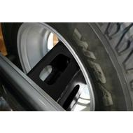 Rampage Rear Tailgate Tire Extender - 86616