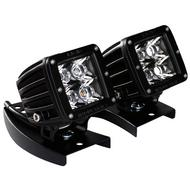 Rigid Industries Universal ATV Handlebar Light Mount (Black ) - 40230