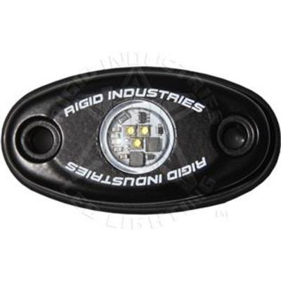 Rigid Industries Black A-Series LED Light - Low Strength Cool White - Pair - 48203 48203