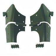 Rugged Ridge Windshield Hinge Set - 11209.02