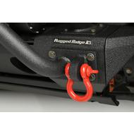 Rugged Ridge Red D-Ring Set (Red) - 11235.08