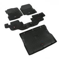 Rugged Ridge All Terrain Floor Liner Kit (Black) - 12988.09