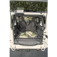 Rugged Ridge C3 Rear Cargo Cover (Black) - 13260.01