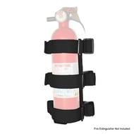 Rugged Ridge Fire Extinguisher Holder (Black) - 13305.21