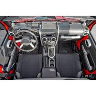 Rugged Ridge Interior Accents (Silver) - 11151.90