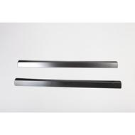 Rugged Ridge Aluminum Entry Guards (Gloss Black) - 11216.02