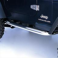 Rugged Ridge Sure Step Side Bars (Stainless Steel) - 11593.04