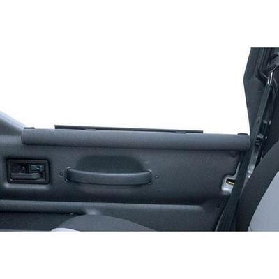 Rugged Ridge Lower Half Doors Trail Arm Rest Padding in Gray - 11820.20 11820.20