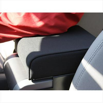 Rugged Ridge Center Console Arm Rest Pad in Black Neoprene - 13107.01 13107.01