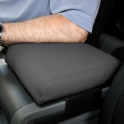 Rugged Ridge Center Console Arm Rest Pad in Gray/Black Neoprene - 13107.09 13107.09