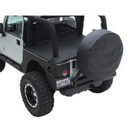 Smittybilt Jeep Tonneau Cover (Black Denim) - 761015