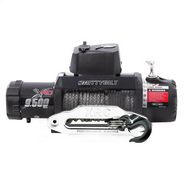 Smittybilt XRC 9.5K Gen2 9500lb Winch Synthetic Rope with Aluminum Fairlead - 98495