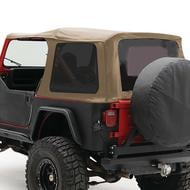 Smittybilt Replacement Soft Top with Tinted Windows (Spice) - 9870217