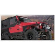 Warn Grille Guard for Warn Rock Crawler Front Bumper (Black) - 61855