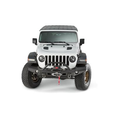 Warn Elite Full Width Front Bumper with Tube - 101337