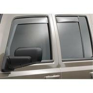 WeatherTech Front and Rear Window Deflector Set (Dark Tint) - 82149