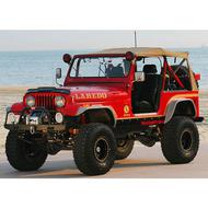 Xenon Jeep CJ Flat Panel Fender Flares (Paintable) - 9090
